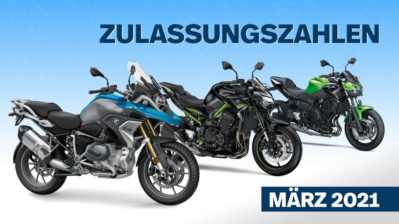 Motorrad-Zulassungszahlen und -statistik März 2021