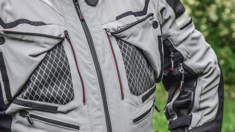 Modeka Panamericana Textilkombi Brusttasche