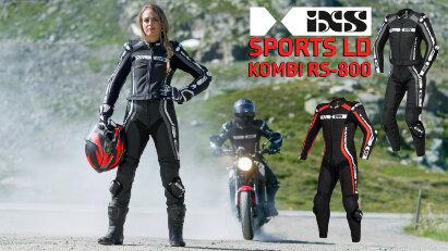 Sport LD Kombi RS-800 1.0: Zweiteilige Lederkombi für Damen und Herren