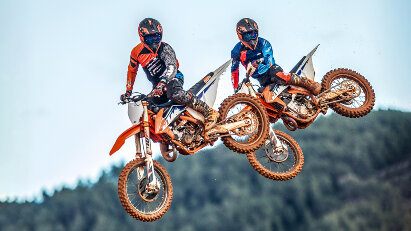 KTM Motocross-Modelle für 2022