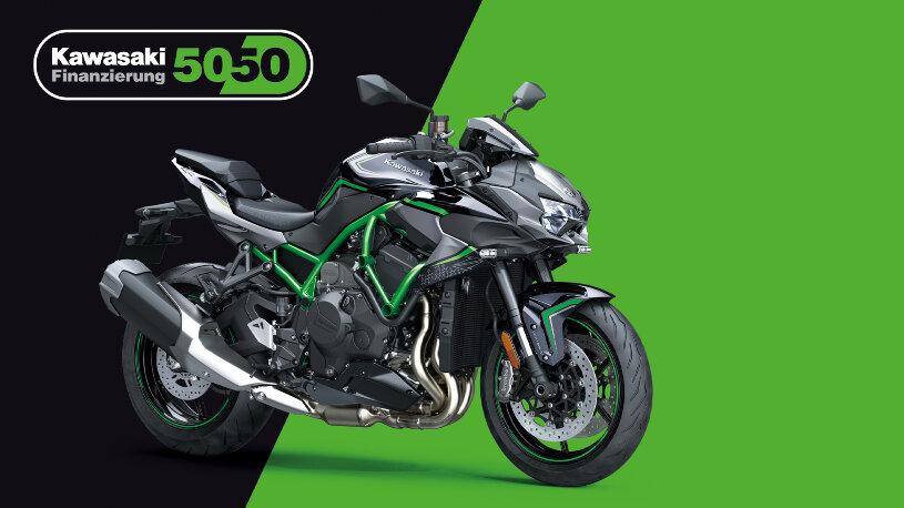50/50-Finanzierung: Neue Kawasaki zum Preis einer Gebrauchten fahren