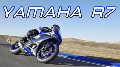 Yamaha R7: Supersportler mit überarbeitetem MT-07-Motor