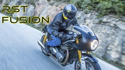 RST Fusion: Motorrad-Lederjacke mit klassischem Look und modernem Airbag