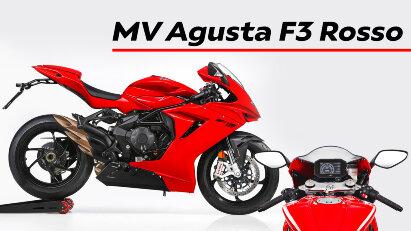 MV Agusta F3 Rosso: Street Legal Super Sport