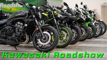 Kawasaki Roadshow: Alle neuen Modelle testen