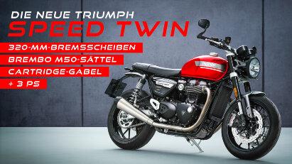 Modell-Update für die Triumph Speed Twin