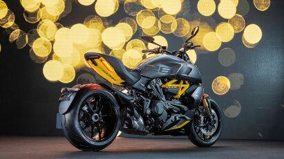 Der Motor der Ducati Diavel 1260 S leistet 162 PS.
