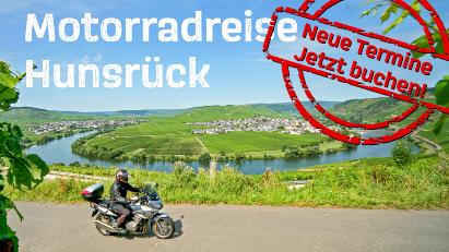 Motorradreise Hunsrück: Kurvenreiche Strecken und kulturelle Highlights