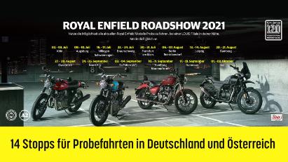 Royal Enfield Roadshow 2021