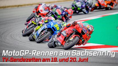 MotoGP-Rennen am Sachsenring