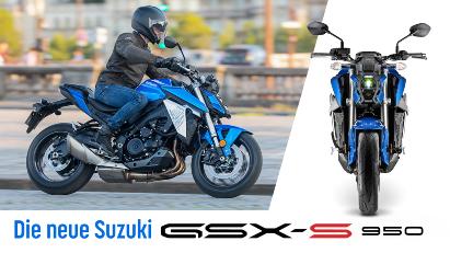 Suzuki GSX-S950: A2-taugliches Naked Bike mit bis zu 95 PS
