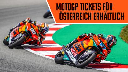 MotoGP-Rennen vor Zuschauern: Tickets für Österreich erhältlich