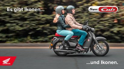 Honda Super Cub 125 MY 2022 - Modellupdate mit Euro 5