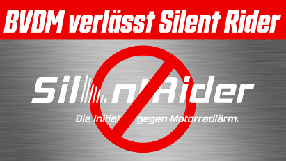 Bundesverband der Motorradfahrer e.V. beendet Mitgliedschaft bei Silent Rider