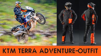 KTM bringt Terra Adventure-Outfit auf den Markt