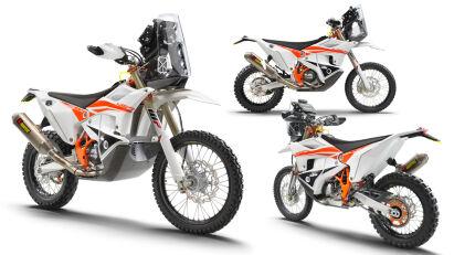 KTM 450 Rally Factory Replica: 2022 mit neuer Gabel