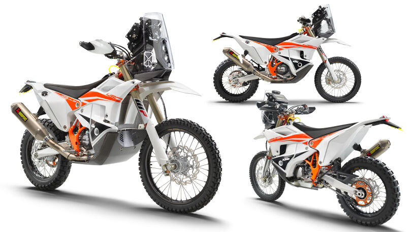 KTM 450 Rally Factory Replica, Modelljahr 2022