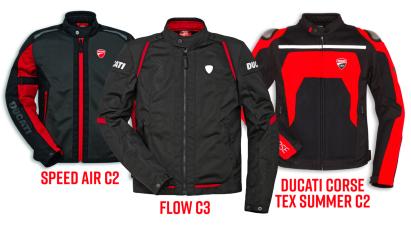 Ducati Mesh-Motorradjacken: luftdurchlässige Schutzkleidung für den Hochsommer