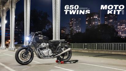 Royal Enfield Interceptor und Continental GT: Heckumbau für 650er-Twins