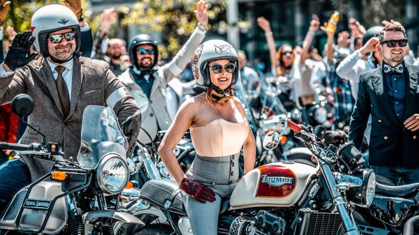 Distinguished Gentleman's Ride 2021 in Belgrad, Serbien