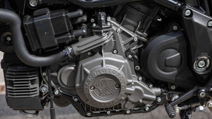 Indian FTR Motor mit 1203 ccm