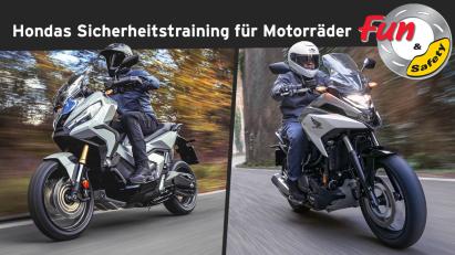 Honda Sicherheitstrainings für Motorräder: Fun & Safety