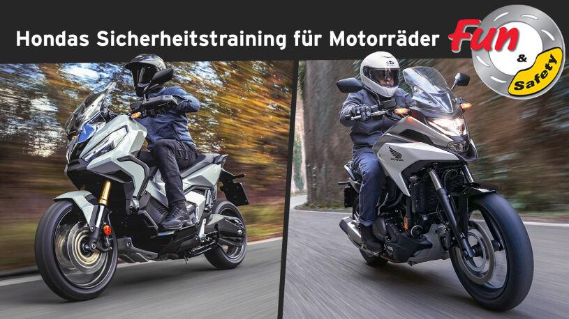 Hondas Sicherheitstraining für Motorräder: Fun & Safety