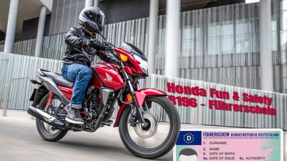 Honda Fun & Safety B196 Führerschein