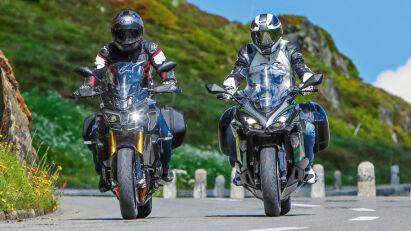 Vergleichstest: Kawasaki Ninja 1000SX Tourer vs. Yamaha MT-10 SP Tourer Edition