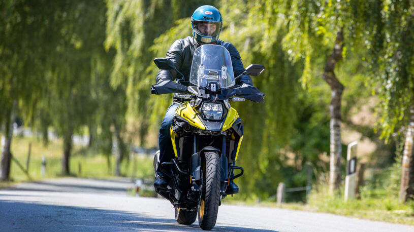 Suzuki V-Strom 1050XT Fahrbild