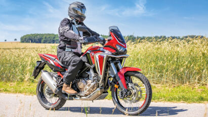 Fahrtest mit Rallye-Feeling: Honda CRF1100L Africa Twin