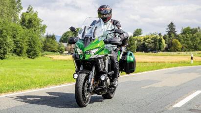 Fahrtest: Kawasaki Versys 1000 SE Grand Tourer