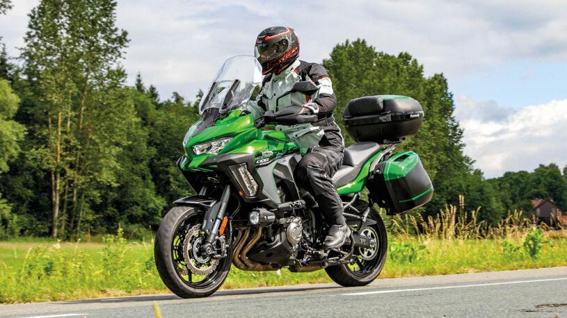 Kawasaki Versys 1000 SE Grand Tourer Fahrbild
