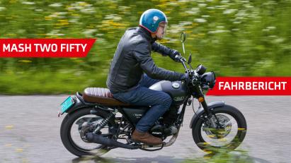 Mash Two Fifty: luftgekühlte 18 PS für 3.700,-- Euro