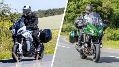 Vergleichstest: Kawasaki Versys 1000 SE GT vs. BMW S 1000 XR