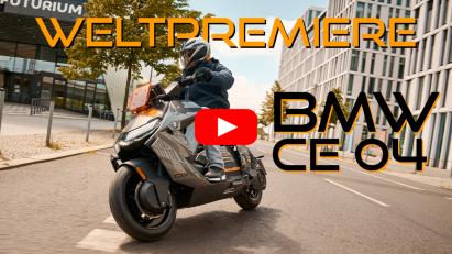 BMW Motorrad präsentiert Elektroroller CE 04 – weitere Modelle folgen