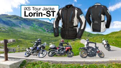 Anprobiert: Tour Jacke Lorin-ST von iXS