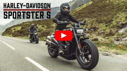 Harley-Davidson präsentiert neue Sportster S