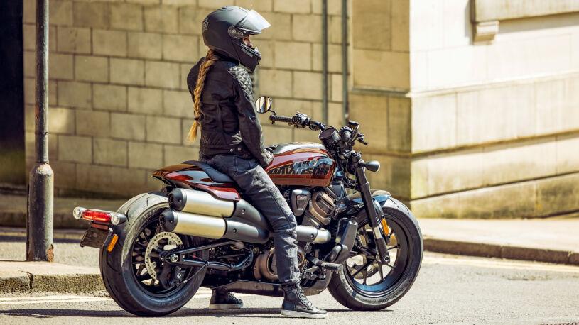 Harley Davidson Sportster S Sitzhöhe