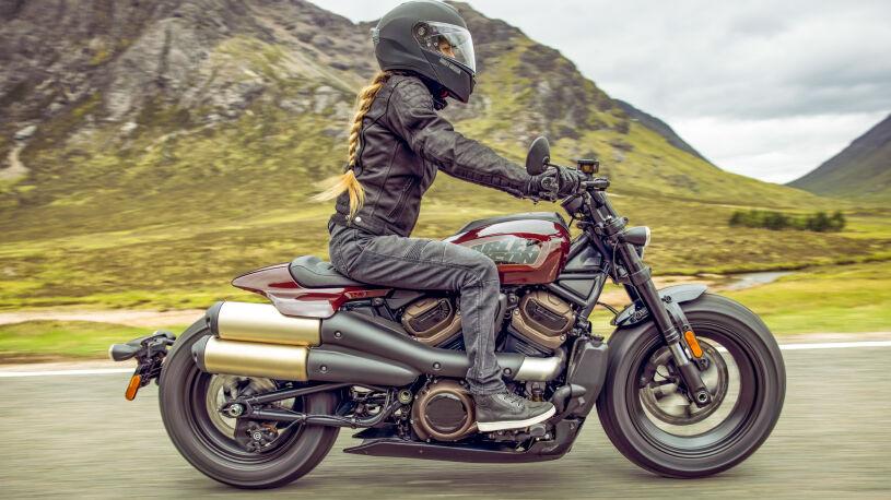 Harley Davidson Sportster S Seitenansicht