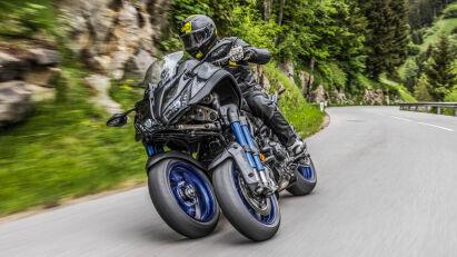 Fahrtest: Yamaha Niken – auf drei Rädern ins Fahrvergnügen!