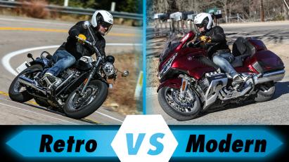 Vergleichstest: Gold Wing GL1800 vs. Triumph Speedmaster