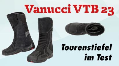Vanucci VTB 23: Tourenstiefel im Test