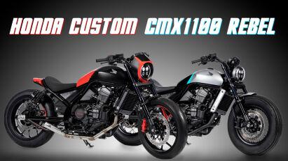 Honda CMX1100 Rebel: Custombikes von FCR