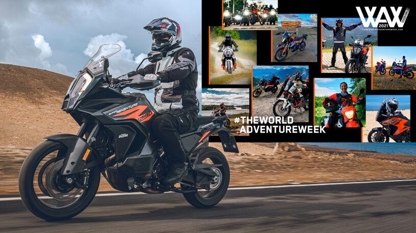 KTM und Riser blicken auf The World Adventure Week zurück