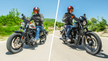 Fahrtest: Harley-Davidson Iron 1200 & Forty-Eight Special
