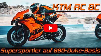 KTM RC 8C: Supersportler auf 890-Duke-Basis
