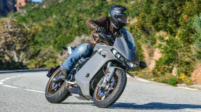 Fahrtest: Zero Motorcycles SR/S