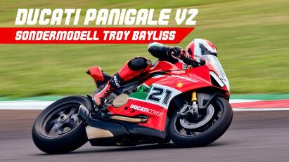 Ducati Panigale V2: Sondermodell zu Ehren von Troy Bayliss