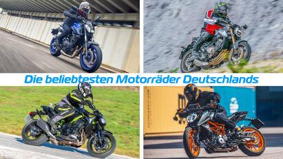 Die beliebtesten Motorräder Deutschlands – Top 10 der Zulassungsstatistik